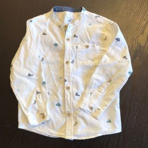 Zara Boys Shirt Size 3/4